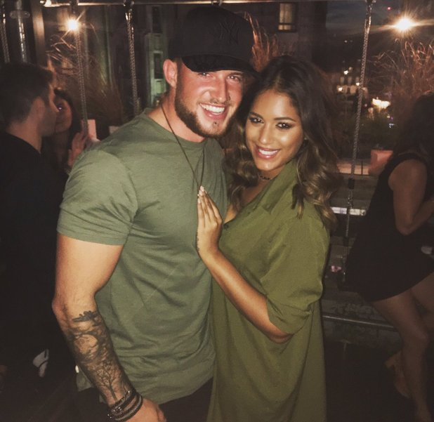 Malin Andersson confirms she's dating Jeavon Street - 1 Sep 2016