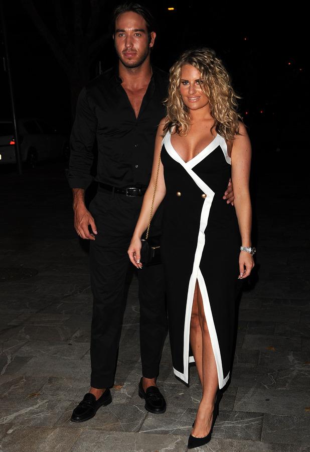 Danielle Armstrong and James Lock, Palma Mallorca 4 July