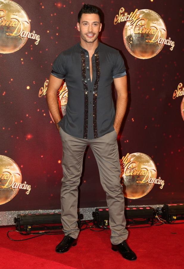 Giovanni Pernice at Strictly Come Dancing 2016 launch 30 August 2016