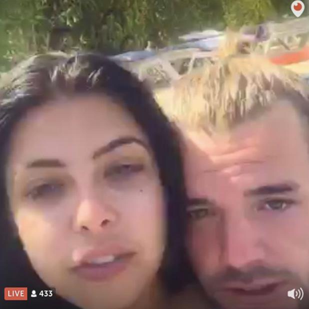Nathan Massey and Cara de la Hoyde on Periscope 2 Sept 2016