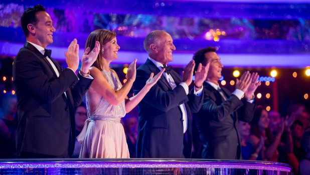 Strictly Come Dancing 2016: Craig Revel Horwood, Darcey Bussell, Len Goodman, Bruno Tonioli Launch show 2016