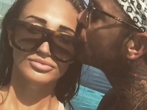 """TOWIE's Pete Wicks gushes that girlfriend Megan McKenna makes him a """"better person"""" on her birthday"""