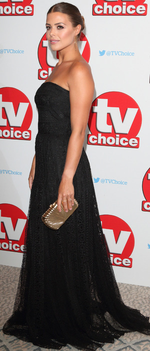 TOWIE star Chloe Lewis at the TV Choice Awards, The Dorchester Hotel, London, 5 September