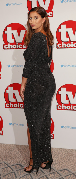 Former The Only Way Is Essex star Ferne McCann at the TV Choice Awards, The Dorchester Hotel, London, 5 September