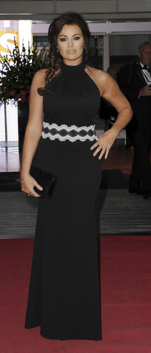Former The Only Way Is Essex star Jessica Wright attends the Everyday Heroes Black Tie Event, London, 7 September 2016