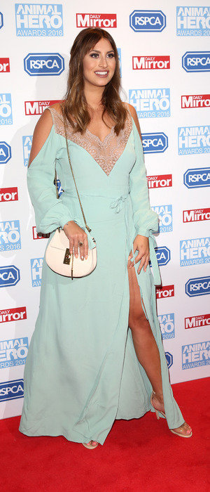 Former The Only Way Is Essex star Ferne McCann attends the Animal Hero Awards, London, 7 September 2016