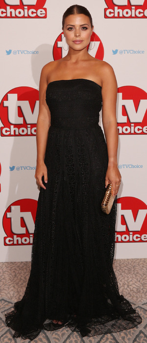 The Only Way Is Essex star Chloe Lewis at the TV Choice Awards, The Dorchester Hotel, London, 5 September