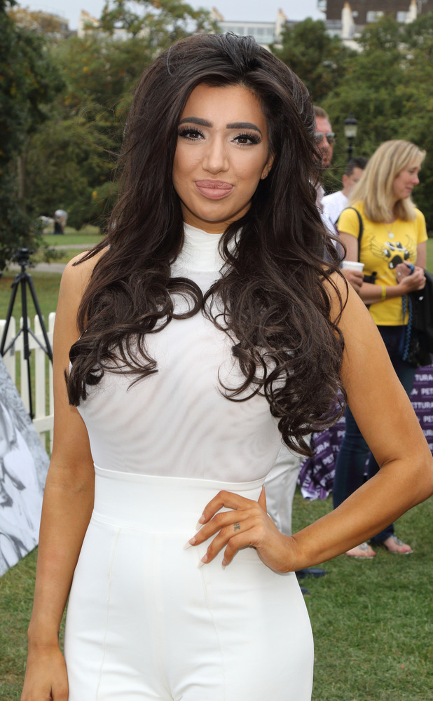 Chloe Khan at PupAid Puppy Farm Awareness Day 2016 at Primrose Hill, London, 3rd September 2016
