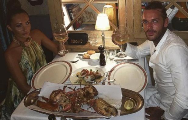 Megan McKenna and Pete Wicks enjoy date night in Barcelona