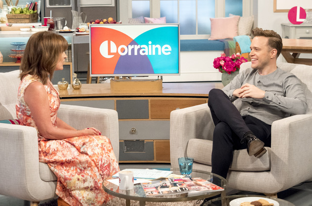 'Lorraine' TV show, London, UK - 09 Sep 2016 Lorraine Kelly and Olly Murs