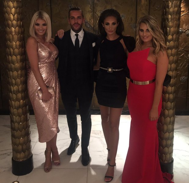 TOWIE stars attend the TV Choice Awards 2016, London's The Dorchester - 5 Sep 2016