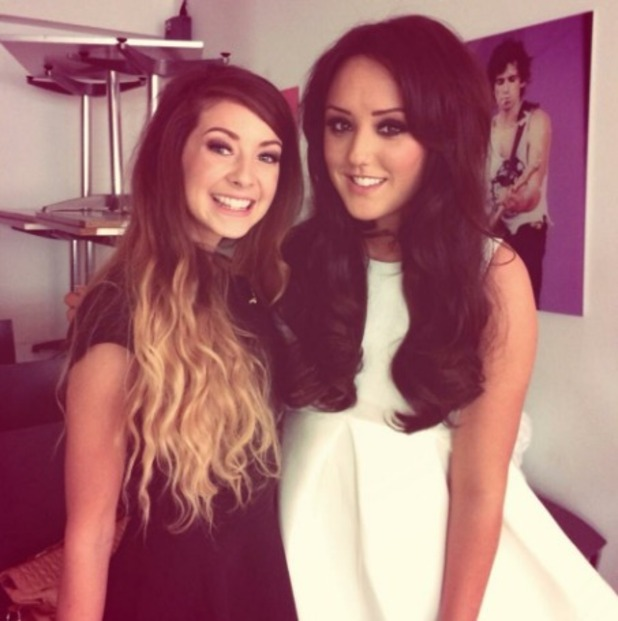 Charlotte Crosby and Zoella throwback snap, September 11 2016