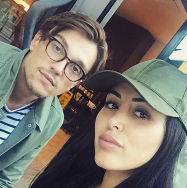 Lewis Bloor and Marnie Simpson, September 2016