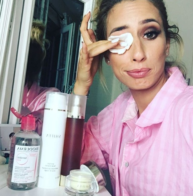 Stacey Solomon reveals her bedtime beauty secrets, including Bioderma and Shiffa, 7 September 2016
