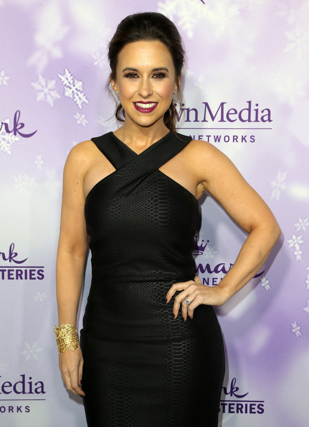 Hallmark Channel and Hallmark Movies & Mysteries Winter 2016 TCA Press Tour Lacey Chabert