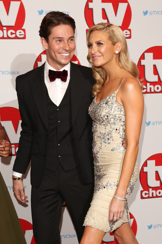 Joey Essex and Steph Pratt, The TV Choice Awards 2016, 5th September 2016