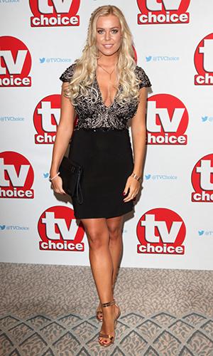Chloe Meadows The TV Choice Awards 2016 at the Dorchester