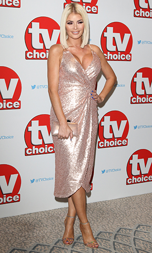 Chloe Sims The TV Choice Awards 2016 at the Dorchester