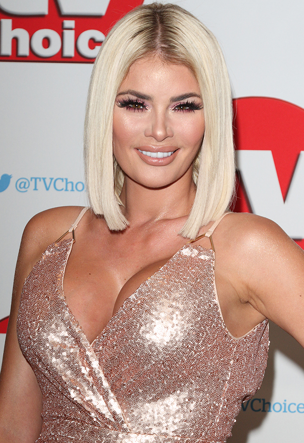 Chloe Sims The TV Choice Awards 2016 at the Dorchester