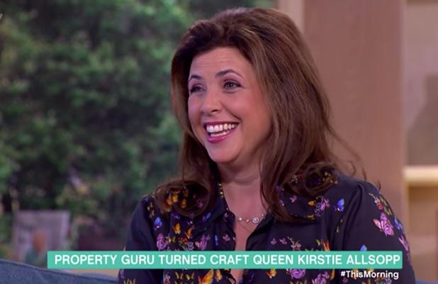 Kirstie Allsopp on This Morning ITV, 7 Sept 2016