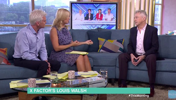 Louis Walsh on This Morning 5 Sept 2016
