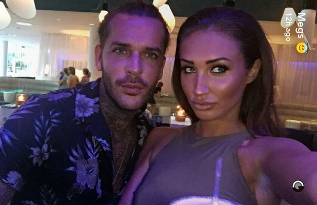 Megan McKenna and Pete Wicks in Barcelona, 4 September 2016