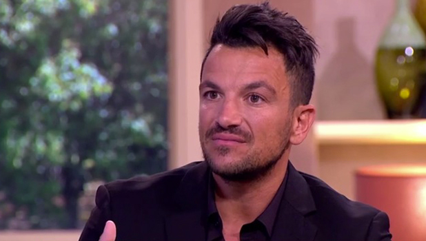 Peter Andre on This Morning Sept 2016