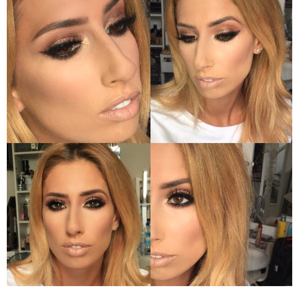 Stacey Solomon's make-up artist Krystal Dawn shares picture of her work, Instagram, 7 September 2016
