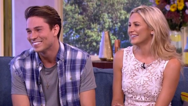Joey Essex and Stephanie Pratt on This Morning 8 Sept 2016