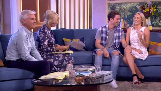Joey Essex and Stephanie Essex on This Morning 8 Sept 2016