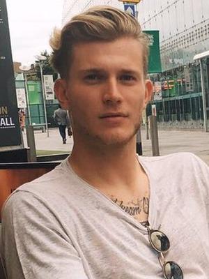 Liverpool FC player Loris Karius - 12 Sep 2016