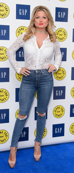 Love Island star Zara Holland at the GAP Jeans for Genes party in London, 13 September 2016
