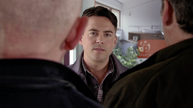 Corrie, Todd wants in on the scam, Mon 19 Sep