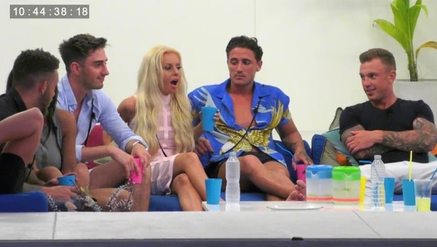 Ex On The Beach: Holly Rickwood and Conor Scurlock row over truth or dare 13 September