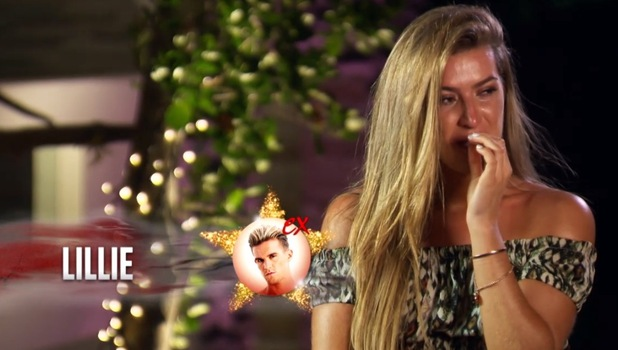 Ex On The Beach: Lillie Gregg finds out Gaz has cheated on her 15 September