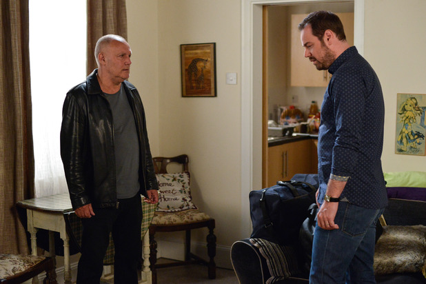 EastEnders, Mick confronts Buster, Fri 23 Sep