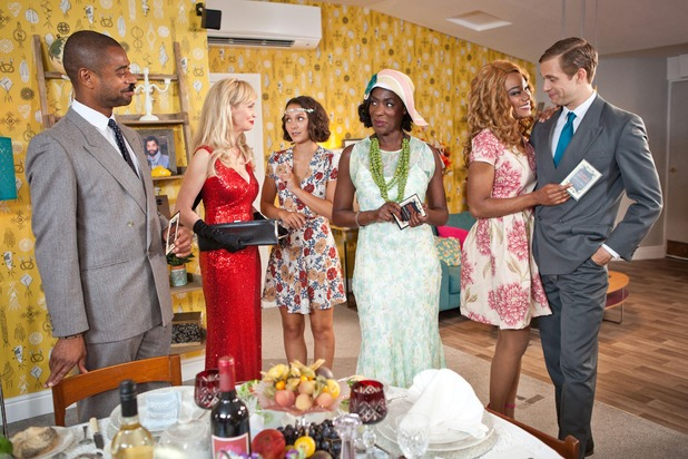 Hollyoaks, Simone hosts a murder mystery party, Wed 21 Sep