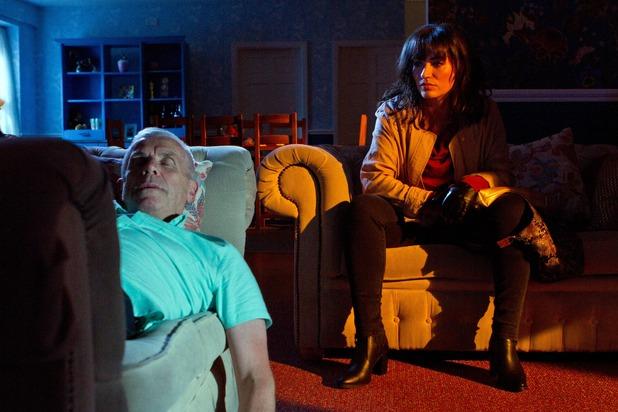 Hollyoaks, Eva watches Jack sleep, Thu 22 Sep
