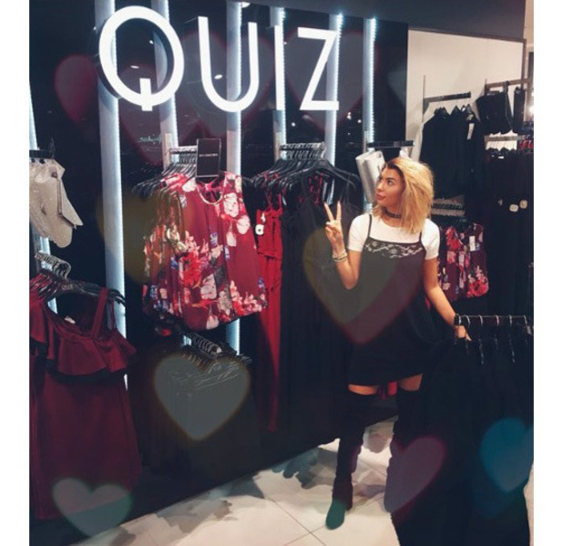 Love Island's Olivia Buckland announced fashion collection with Quiz clothing, London, 16 September 2016