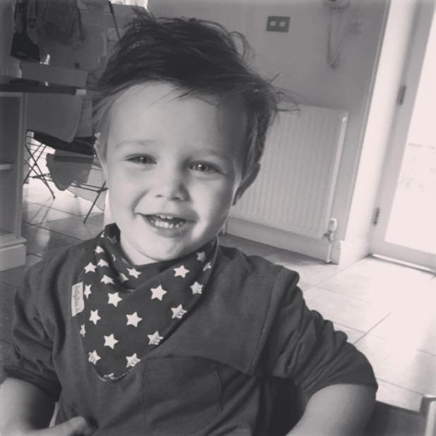 Tadhg Foden, son of Una and Ben Foden, Instagram, 15 September 2016
