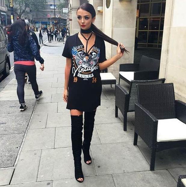 Kady McDermott at London Fashion Week, 17/916