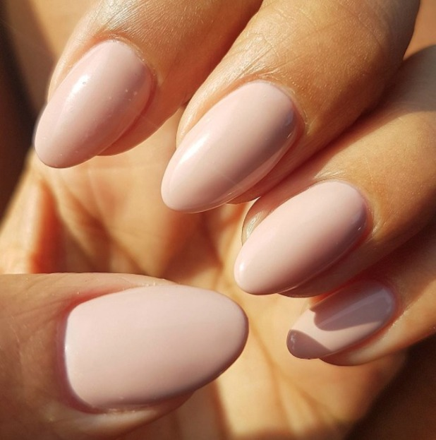 Rochelle Humes reveals love for OPI Nail Lacquer in Tiramisu For Two, 14 September 2016