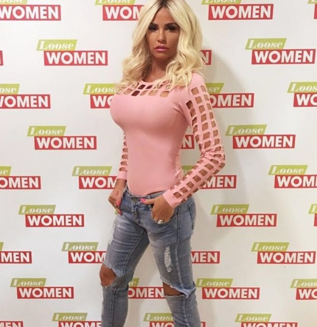 Katie Price shares Insta after talking adoption plans on Loose Women, 16.9.16