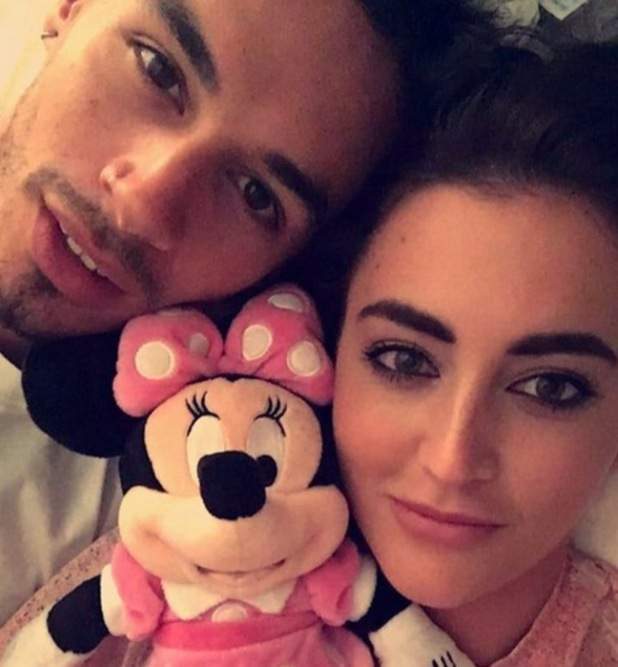 Georgina Leigh Cantwell and Jackson Blyton selfie, Instagram 13 September