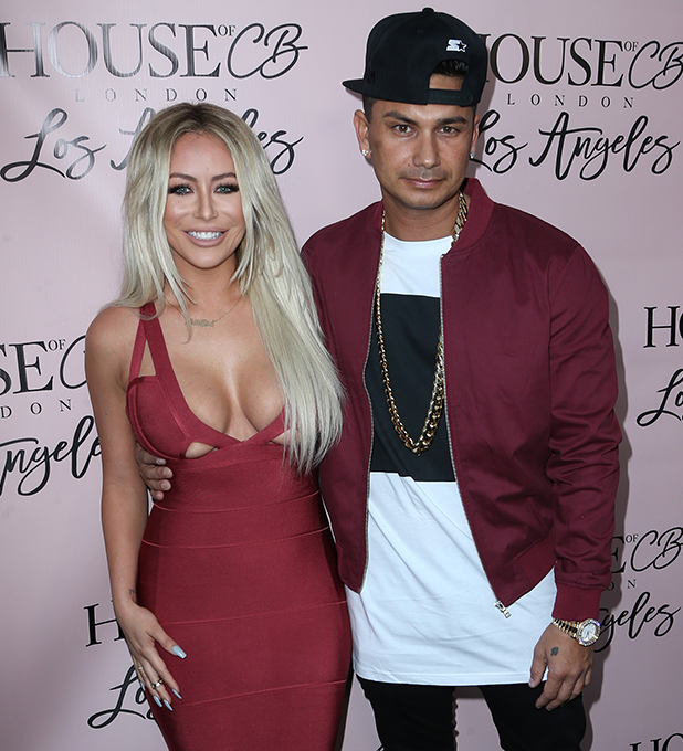 House Of CB Flagship Store Launch Aubrey and Pauly D