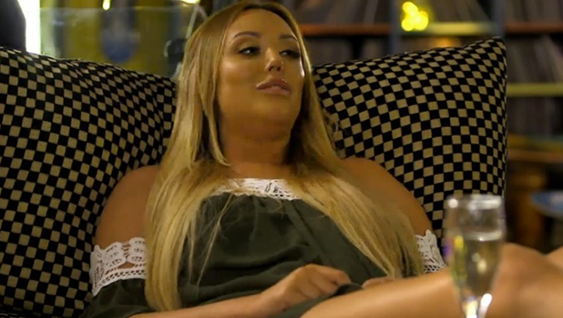 Celebs Go Dating: Charlotte Crosby at speed dating 14 Sept 2016