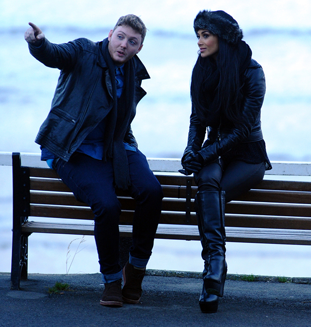 X Factor finalist James Arthur visits his hometown of Saltburn-by-the-Sea with mentor Nicole Scherzinger. The pair visited James' local pub, The Victoria