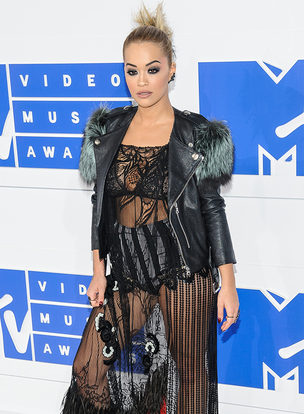 2016 MTV Video Music Awards at Madison Square Garden Rita Ora