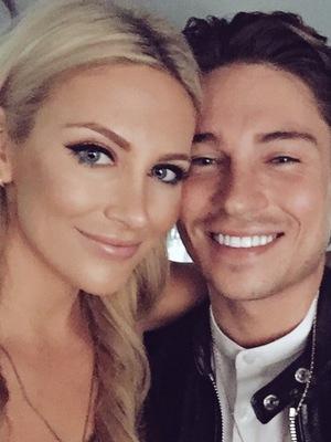 Stephanie Pratt and Joey Essex selfie, Twitter 16 September