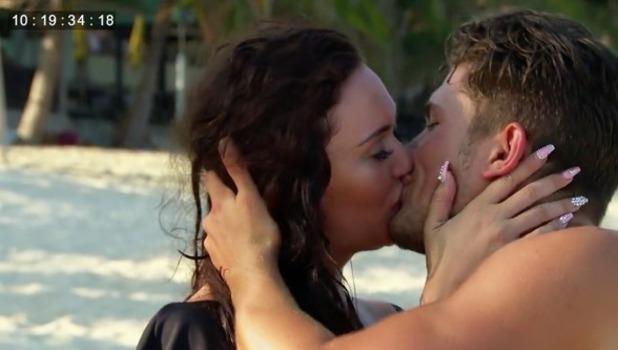 Jordan Davies and Charlotte Dawson date, Ex On The Beach 20 September